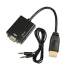 HDMI į VGA + Audio adapteris
