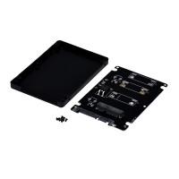 mSATA SSD į 2.5 SATA 6.0 Gbps Adapteris su dėklu Kabeliai ir Adapteriai