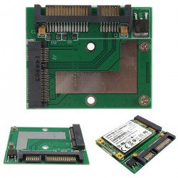 mSATA SSD to 2.5'' SATA 6.0 Gbps Adapter