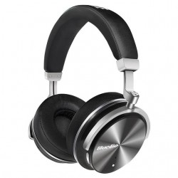 Bluedio T4 Portable Bluetooth Headphones with ANC and Mic  Cables & Adapters