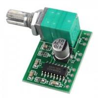 PAM8403 Audio stiprintuvas 2x3W su potenciometru Atvirojo kodo elektronika