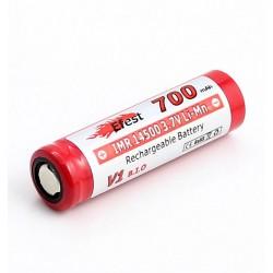 Efest IMR 14500 700mAh Baterijos ir Įkrovikliai
