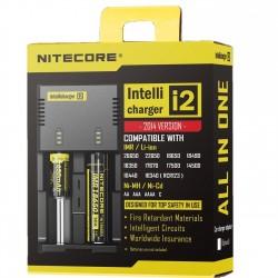 Nitecore Intellicharger i2 Įkroviklis Baterijos ir Įkrovikliai