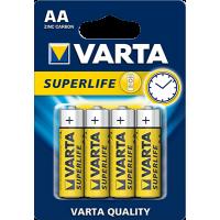 VARTA Superlife AA baterijos Baterijos ir Įkrovikliai