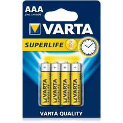 VARTA Superlife AAA batteries