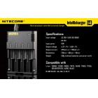 Nitecore Intellicharger i4 Įkroviklis Baterijos ir Įkrovikliai