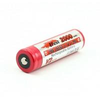 Efest IMR 18650 - 2000mAh Baterijos ir Įkrovikliai