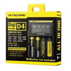 Nitecore Intellicharger D4 Įkroviklis Baterijos ir Įkrovikliai