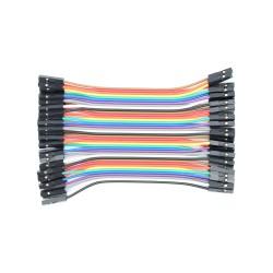Jungiamieji laidai su lizdais Arduino moduliai