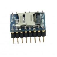Arduino WTV020-SD-16P Audio Modulis