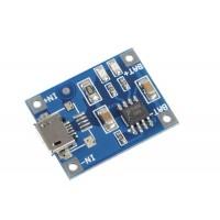 Mini USB TP4056 Baterijų Įkrovimo Modulis