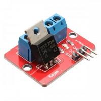 MOSFET IRF520 modulis Elektroninės plokštės