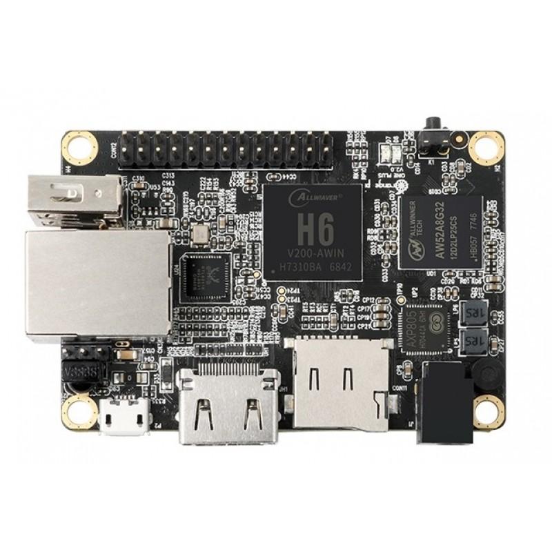 Orange Pi One Plus H6 Quad-core 4K