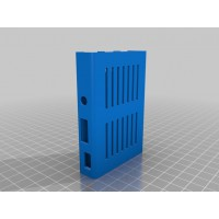Raspberry Pi 3 dėklas (3D spausdintuvu)