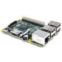 Raspberry Pi 3 Model B - 1GB RAM Atvirojo kodo elektronika