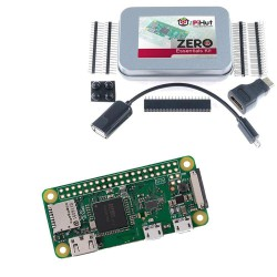 Raspberry Pi Zero W with Essential Kit Open Source Electronics