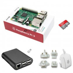 Raspberry Pi 3 Model B - 1GB RAM Kit V2 Open Source Electronics