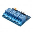 5V 4-Kanalų relinis modulis Atvirojo kodo elektronika
