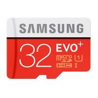 SAMSUNG MicroSD EVO+ 32GB Class10 + Adapteris