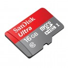 SanDisk ULTRA MicroSDHC 16GB 80MB/s class 10 UHS-1