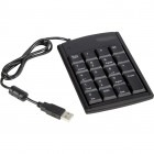 USB skaičių klaviatūra Kabeliai ir Adapteriai