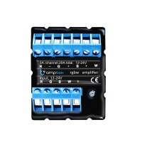 BleBox ampBox RGBW LED stiprintuvas Atvirojo kodo elektronika