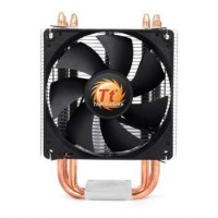 THERMALTAKE Contac 21 CPU Cooler Universal Socket Compatibility 92mm PWM fan four 6mm Heat-Pipes Procesorių aušinimas