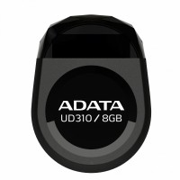 A-DATA UD310 8GB USB2 BLACK SMALL&DURABL USB atmintinės