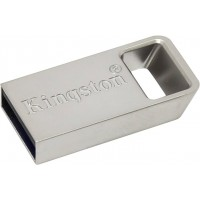 KINGSTON 16GB DTMicro USB 3.1/3.0 Type-A metal ultra-compact flash drive USB atmintinės
