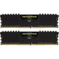 CORSAIR 8GB RAMKit 2x4GB DDR4 2400MHz 2x288 Dimm Unbuffered 16-16-16-39 Vengeance LPX Black Spreader 1,2V XPM2.0 RAM atmintis