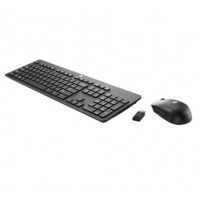 HP Slim Wireless KB and Mouse Europe - English localization Pelės ir klaviatūros