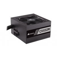 CORSAIR Builder Serie CX650M Modular Power Supply EU Version Maitinimo šaltiniai