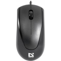 DEFENDER Wired optical mouse Optimum MB-150 black 3 buttons 800 dpi PS/2 Pelės ir klaviatūros