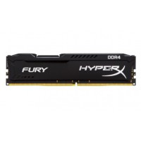KINGSTON 8GB 2400MHz DDR4 CL15 DIMM HyperX FURY Black RAM atmintis