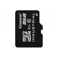KINGSTON 8GB microSDHC UHS-I Industrial Temp Card Single Pack w/o Adapter Atminties kortelės SD microSD