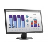 HP V243 24in monitor FHD (1920x1080) Viewing angle 170 160 Response time 5ms DVI + VGA Tilt VESA 1y warranty Kompiuterių monitoriai