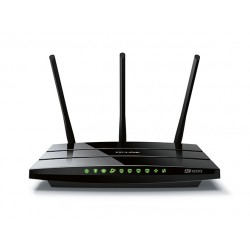 TP-LINK AC1200 Dual Band Wireless Gigabit Router Broadcom 867Mbps at 5GHz + 300Mbps at 2.4GHz 802.11ac/a/b/g/n Beamforming 1 Gigabit Tinklo įranga