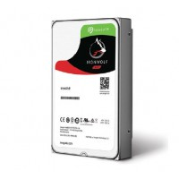 SEAGATE NAS HDD 4TB IronWolf 5900rpm 6Gb/s SATA 64MB cache 3.5inch 24x7 for NAS and RAID rackmount systemes BLK HDD, SSD diskai ir priedai