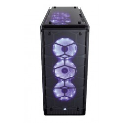 CORSAIR Crystal Serie 570X RGB Tempered Glass Premium ATX Mid-tower Case Korpusai ir priedai