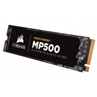 CORSAIR SSD 480GB MP500 NVMe PCIe M.2 Up to 3000MB/s Read up to 2400MB/s write up to 150K iops SSD diskai