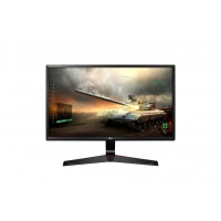 LG 24MP59G Ecran LED IPS GAMING 24i 16:9 1920 x 1080 - 250cd/m2 - 1ms - DP HDMI VGA - Mode Game - Black Kompiuterių monitoriai