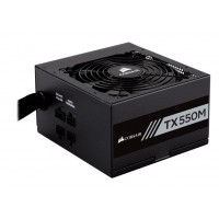 CORSAIR Builder TX550 550W Modular 80 Pus Gold Power Supply Maitinimo šaltiniai