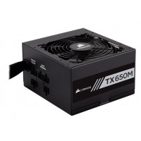CORSAIR Builder TX650 650W Modular 80 Pus Gold Power Supply Maitinimo šaltiniai