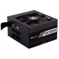 CORSAIR Builder TX750 750W Semi-Modular 80 Plus Gold Power Supply Maitinimo šaltiniai