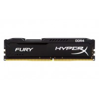 KINGSTON 8GB 2666MHz DDR4 CL16 DIMM 1Rx8 HyperX FURY Black RAM atmintis