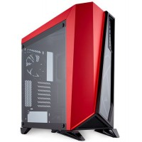 CORSAIR SPEC-Omega Mid Tower Tempered Glass Gaming Case Black/Red Korpusai ir priedai