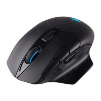 CORSAIR Dark Core RGB Performance Wired/Wireless Gaming Mouse with QI Wireless charging Backlit LED 16000DPI Pelės ir klaviatūros