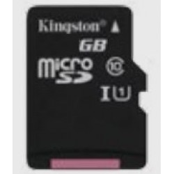 KINGSTON microsSD 128GB Canvas Select Class 10 UHS-I speed upto 80MB/s read flash card Atminties kortelės SD microSD