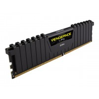 CORSAIR 16GB RAMKit 2x8GB DDR4 3600MHz 2x288 Dimm Unbuffered 18-22-22-42 Vegeance LPX black heat spreader 1,35V RAM atmintis