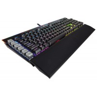 CORSAIR Gaming K95 RGB PLATINUM Mechanical Keyboard Backlit RGB LED Cherry MX Speed Black US Pelės ir klaviatūros
